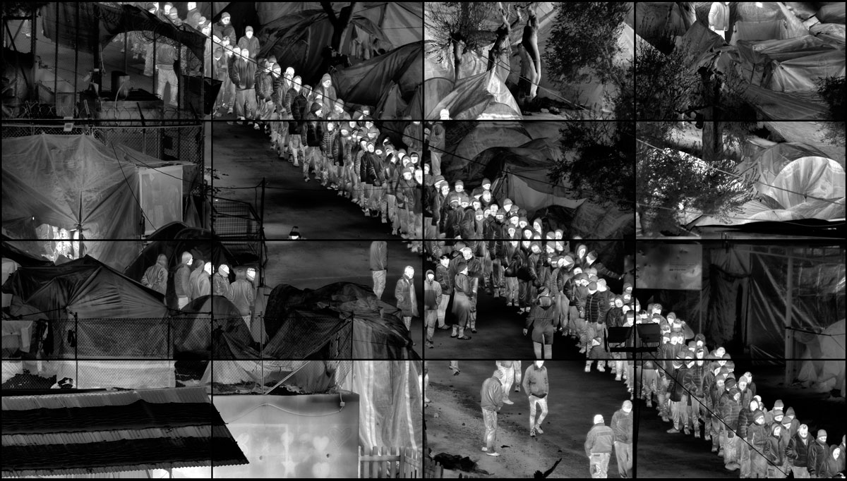 Richard Mosse, <em>Moria Grid 2017</em>