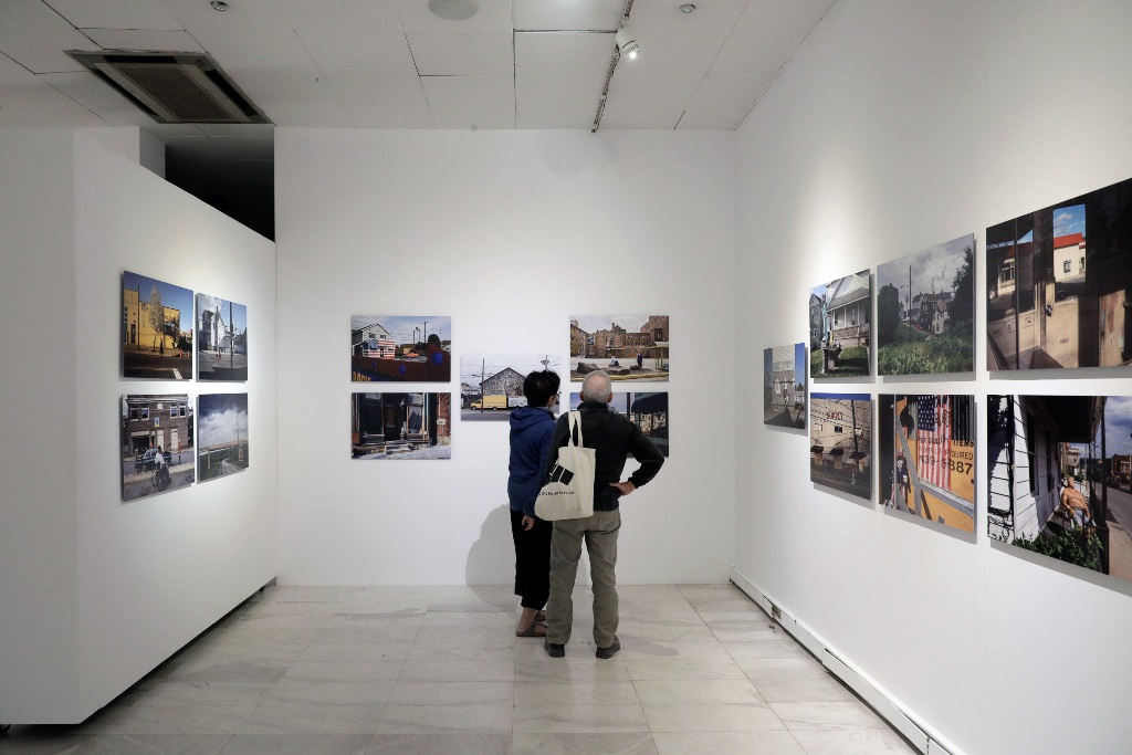 Εγκαίνια εκθέσεων για τη Thessaloniki PhotoBiennale2018, στο Μακεδονικό Μουσείο Σύγχρονης Τέχνης. Κωνσταντίνος Τσακαλίδης / SOOC
