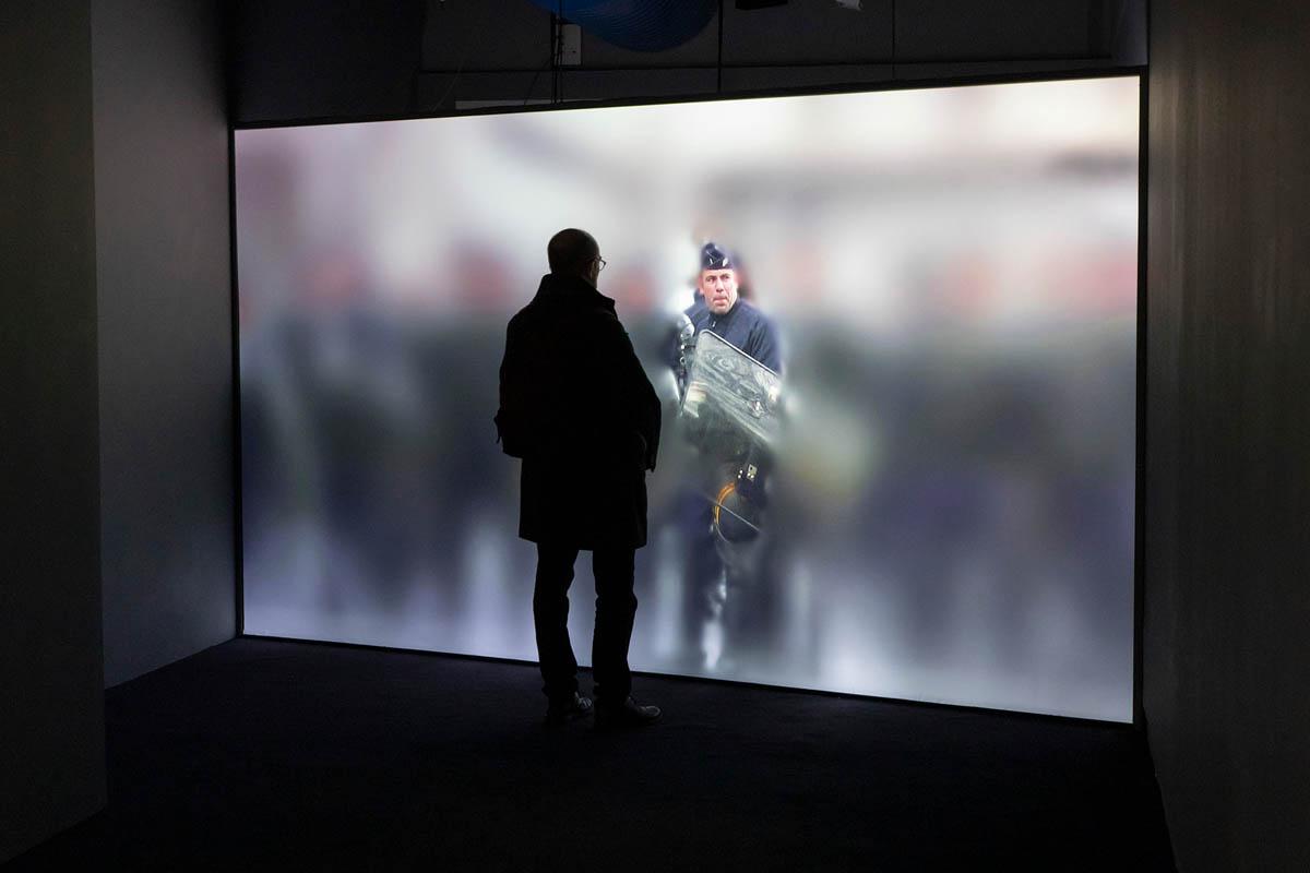 <em>niform</em>, Samuel Bianchini, 2007-2020. Centre Georges Pompidou, Παρίσι, Φεβρουάριος 2020. από την έκθεση <em>Hors Pistes</em>. Φωτογραφία Samuel Bianchini – ADAGP