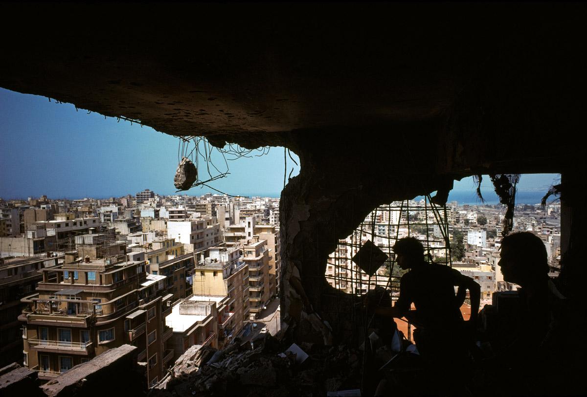 Λίβανος 1978 © Raymond Depardon/Magnum Photos