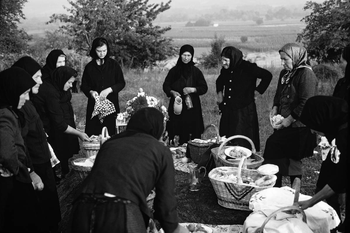 Martin Koenig, <em>Το έθιμο Zadušnica (ημέρα των ψυχών) στο χωριό Veliko Izvor</em>, Zaječar, Ανατολική Σερβία, 1967